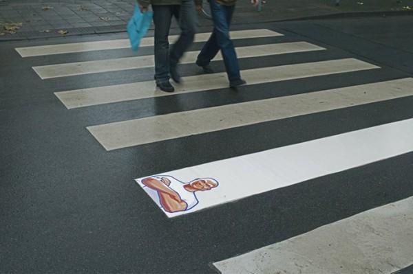 Marketing de guérilla dans la rue